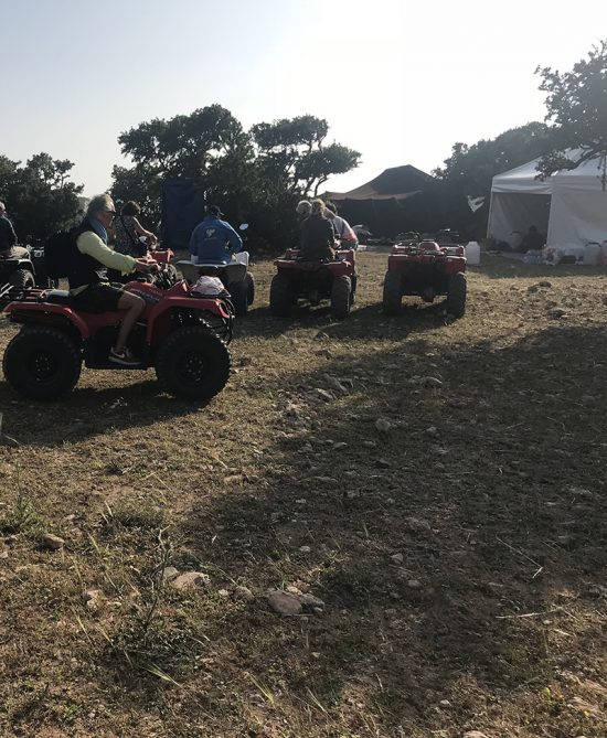 Trip 3 days with 2 nights in camp 1 Person / 1 Quad