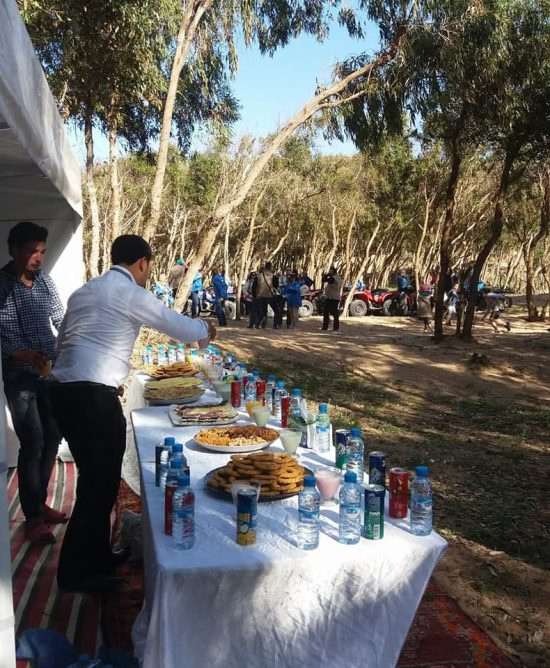 Sidi Kaouki day with meal 2 Persons / 1 Quad